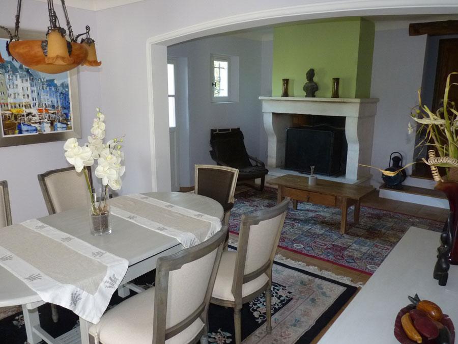 Maison de 150 m2 hab avec piscine et jolie vue