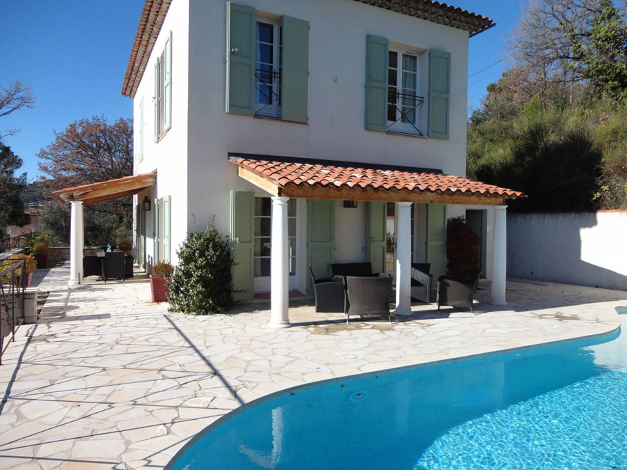 House With A Beautiful View Pool For In Seillans